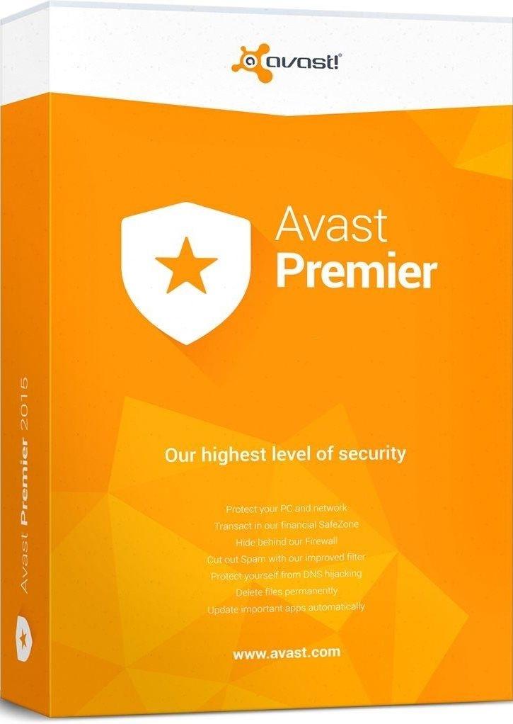 Avast Premier (1-PC 3 years)