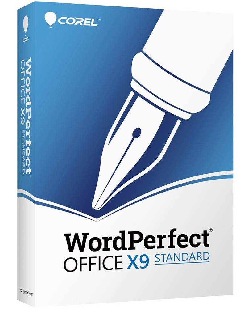 WordPerfect Office X9 – Standard Edition Upgrade