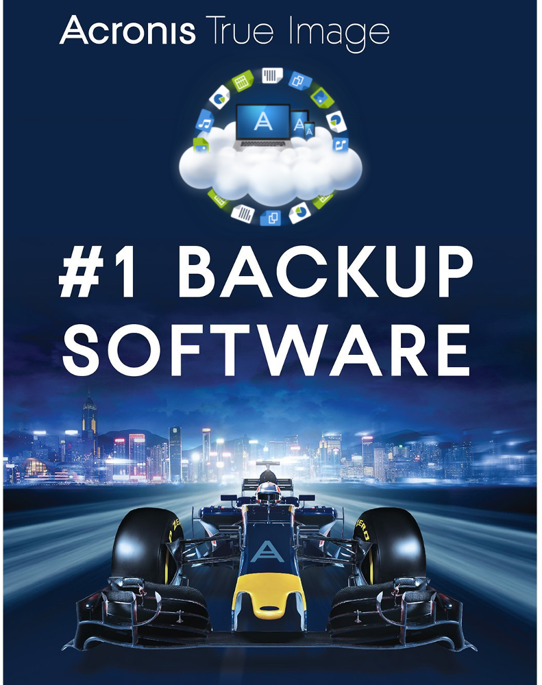 Acronis True Image 2018 Advanced (1 year - 3 devices)