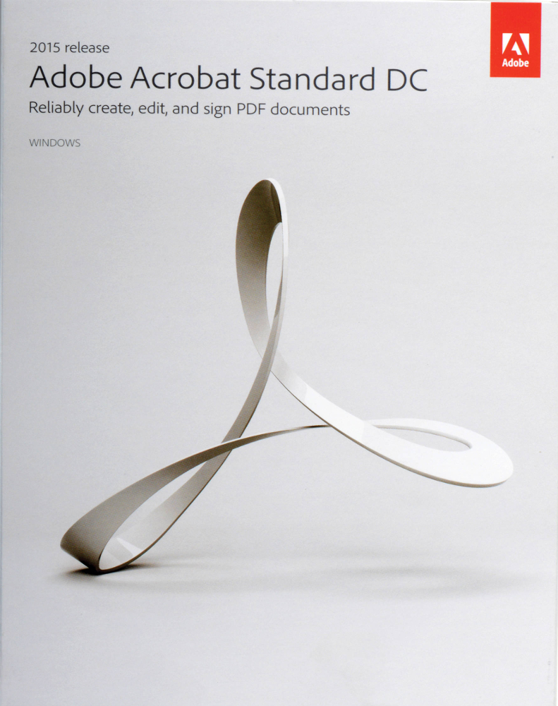 Adobe Acrobat Standard 2017  English