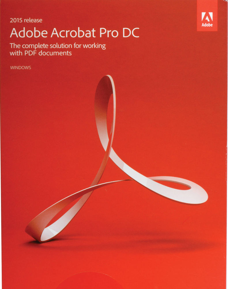 Adobe Acrobat Pro 2017 - only for Students and Teachers