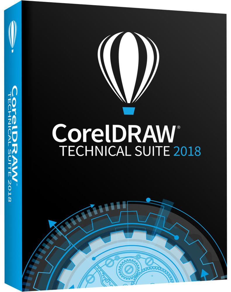 CorelDRAW Technical Suite 2018 Upgrade