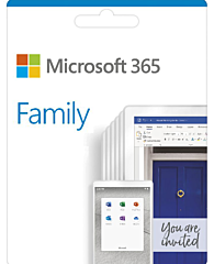 Microsoft 365 Family - 1 year subscription
