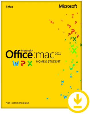 Microsoft Office for Mac 2011 Home & Student