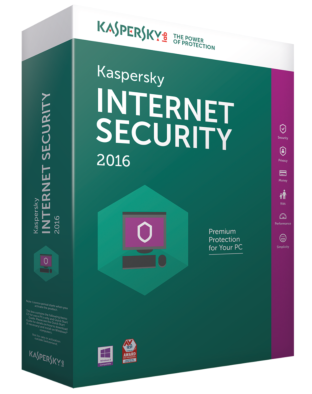 Kaspersky Internet Security 2016 (1 year - 1 device)