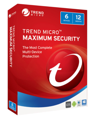 Trend Micro Maximum Security (5-PC 1 year)
