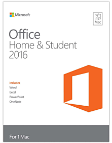 Microsoft Office 2016 for Mac Home & Student