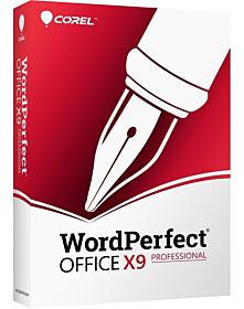 WordPerfect Office X9 – Professional Edition Upgrade