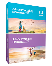 Adobe Photoshop & Premiere Elements 2021 - only for Students/Teachers