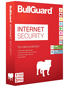 Bullguard Internet Security (3 devices - 3 year)