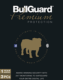 Bullguard Premium Protection (10 devices - 3 year)