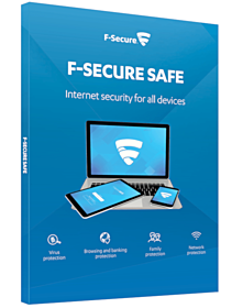 F-Secure Safe (3-Devices 1 year)