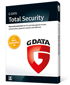 G Data Total Security (4-PC 1-year)