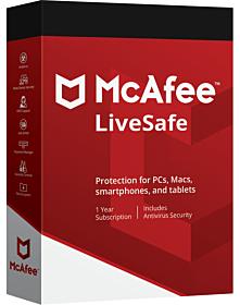 McAfee LiveSafe (1 year)