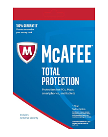 McAfee Total Protection (1 jaar - 3 devices)