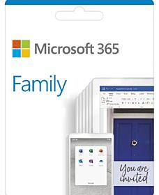 Microsoft 365 Family - 1 year subscription