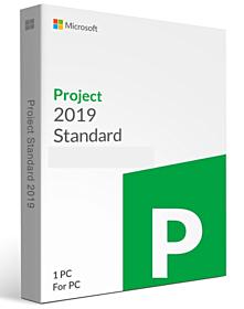 MicrosoftProject 2019 Standard