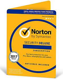 Norton Security Deluxe (5 devices - 3 year)