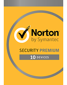 Norton Security Premium (10 devices - 3 year)