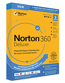 Norton 360 Deluxe (3-devices 1-year)
