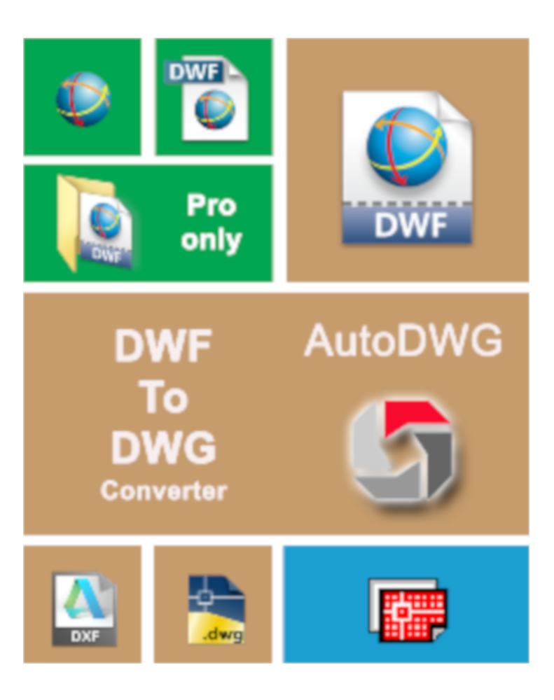 AutoDWG DWF to DWG Converter 2019 PRO
