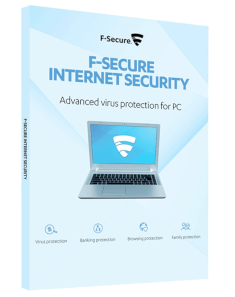 F-Secure Internet Security (3-PC 1 year)
