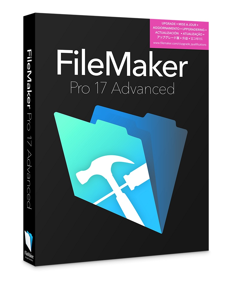 FileMaker Pro Advanced v17 (Academic / Non-Profit license*)