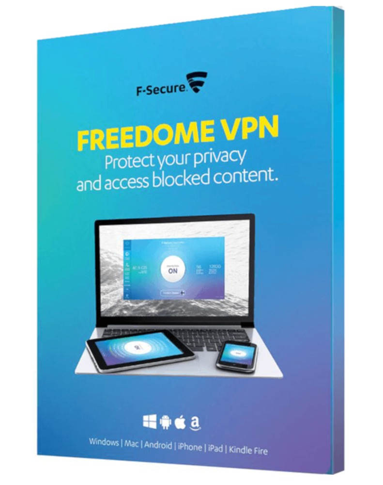 F-Secure Freedome VPN (3-Devices 1 year)