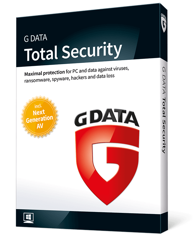 G Data Total Security (2-PC 2-years)