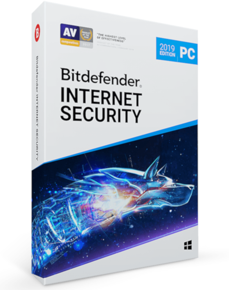 Bitdefender Internet Security 2019 (3-PC 1 year)