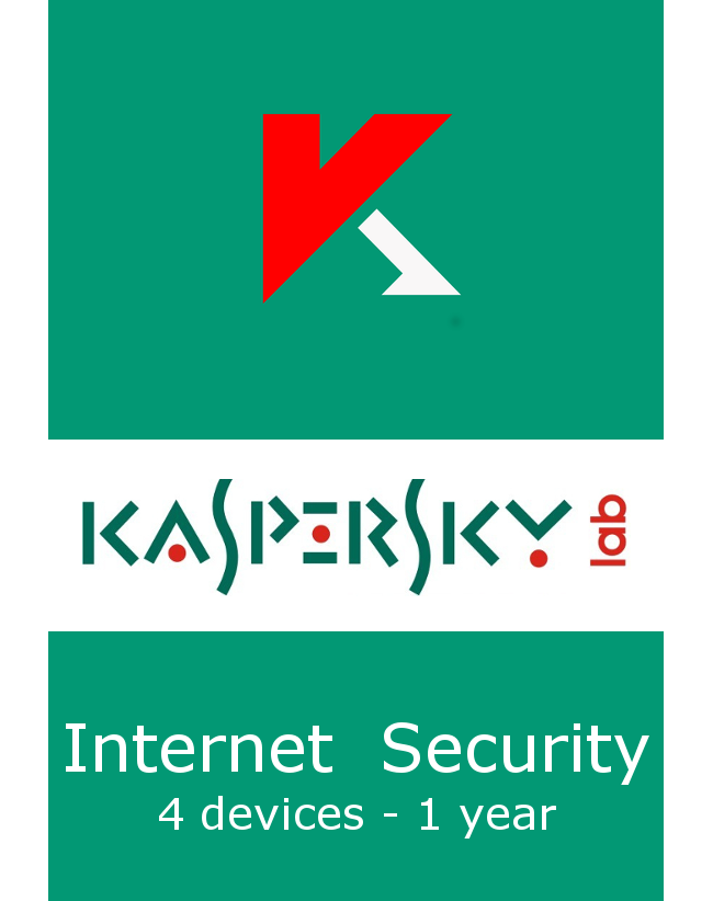 Kaspersky Internet Security (4 devices - 1 year)