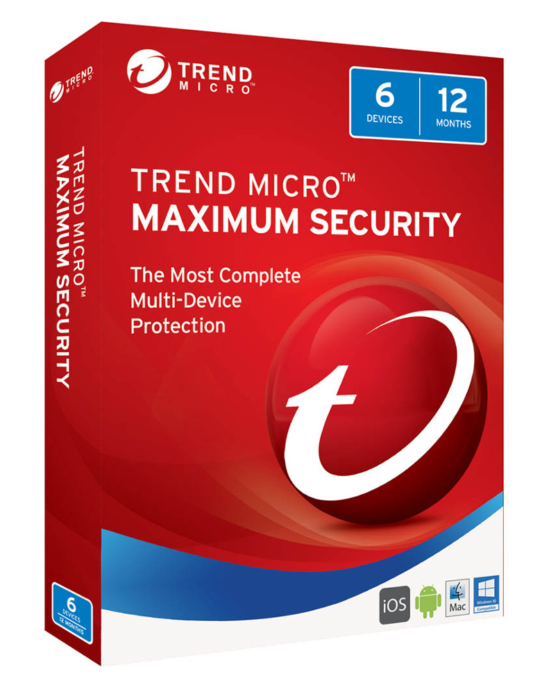 Trend Micro Maximum Security (5-PC 1 year)