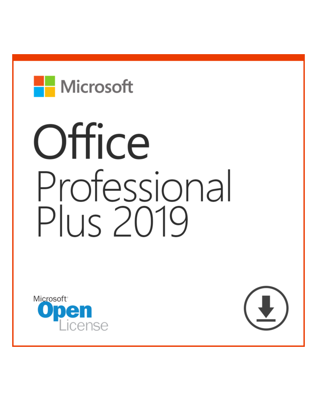 Microsoft Office 2019 Professional Plus Olp License Only