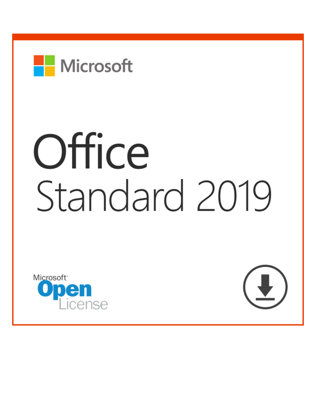 Microsoft Office 2019 Standard OLP - Software Assurance only