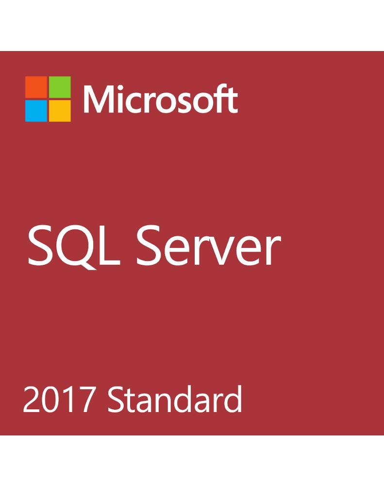 Microsoft SQL Server Standard 2017 (License only)