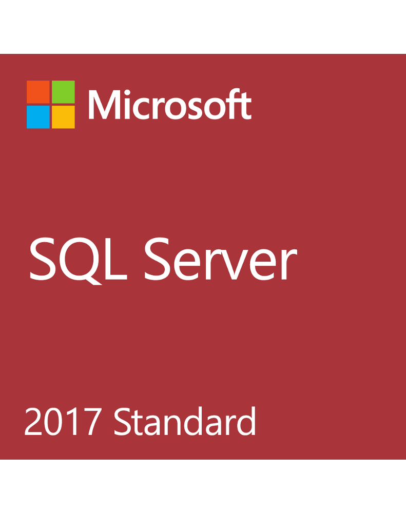 Microsoft SQL Server Standard 2017 (License + SA)