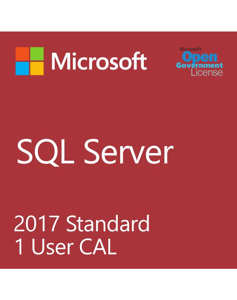 Microsoft SQL User CAL (License + SA)
