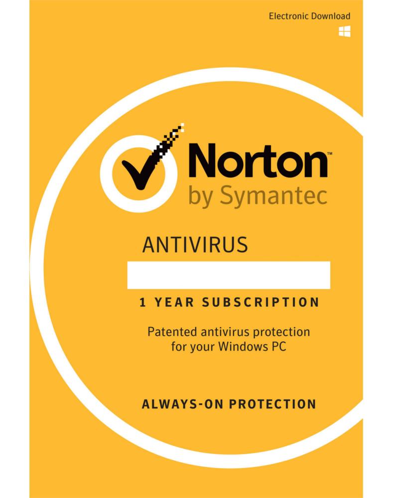 Norton Anti-Virus (1 device - 1 year)