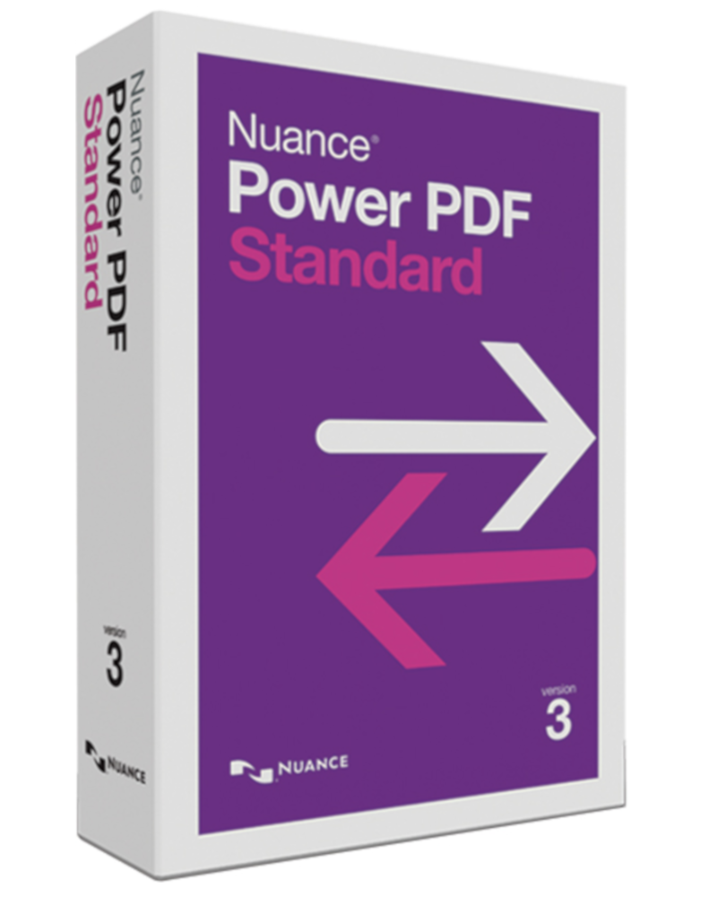 Kofax Power PDF Standard Version 3 (formerly Nuance)