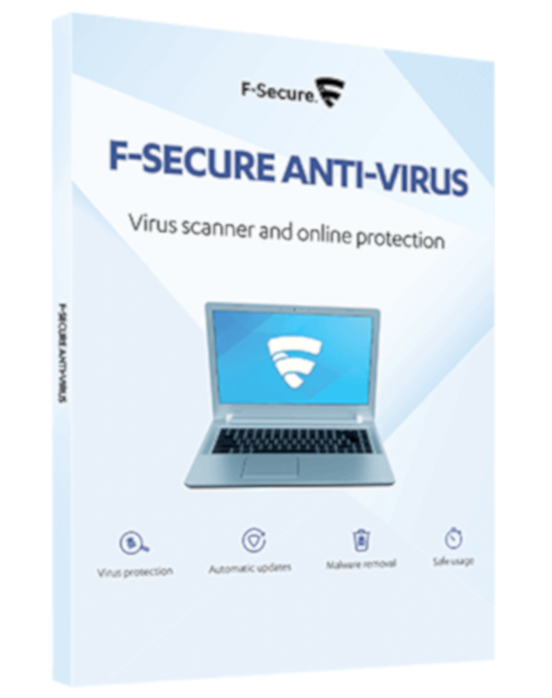F-Secure Anti-Virus (3-PC 1 year)