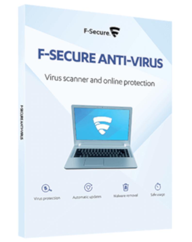 F-Secure Anti-Virus (3-PC 1 year)