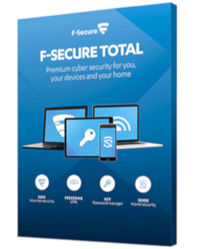 F-Secure Total (3-Devices 1 year)