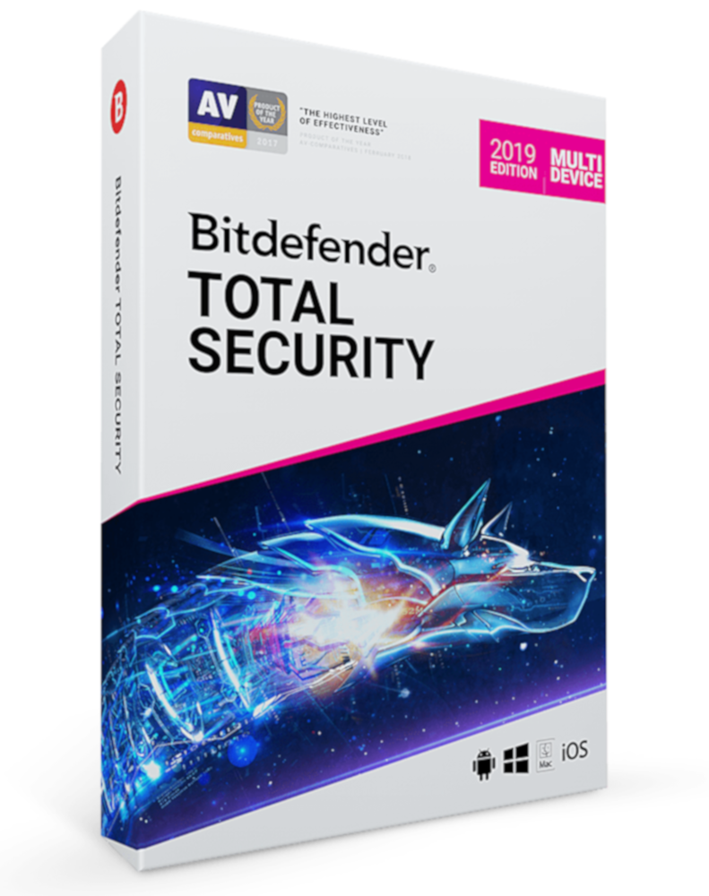Bitdefender Total Security Multi-Device (10-Devices 1 year)