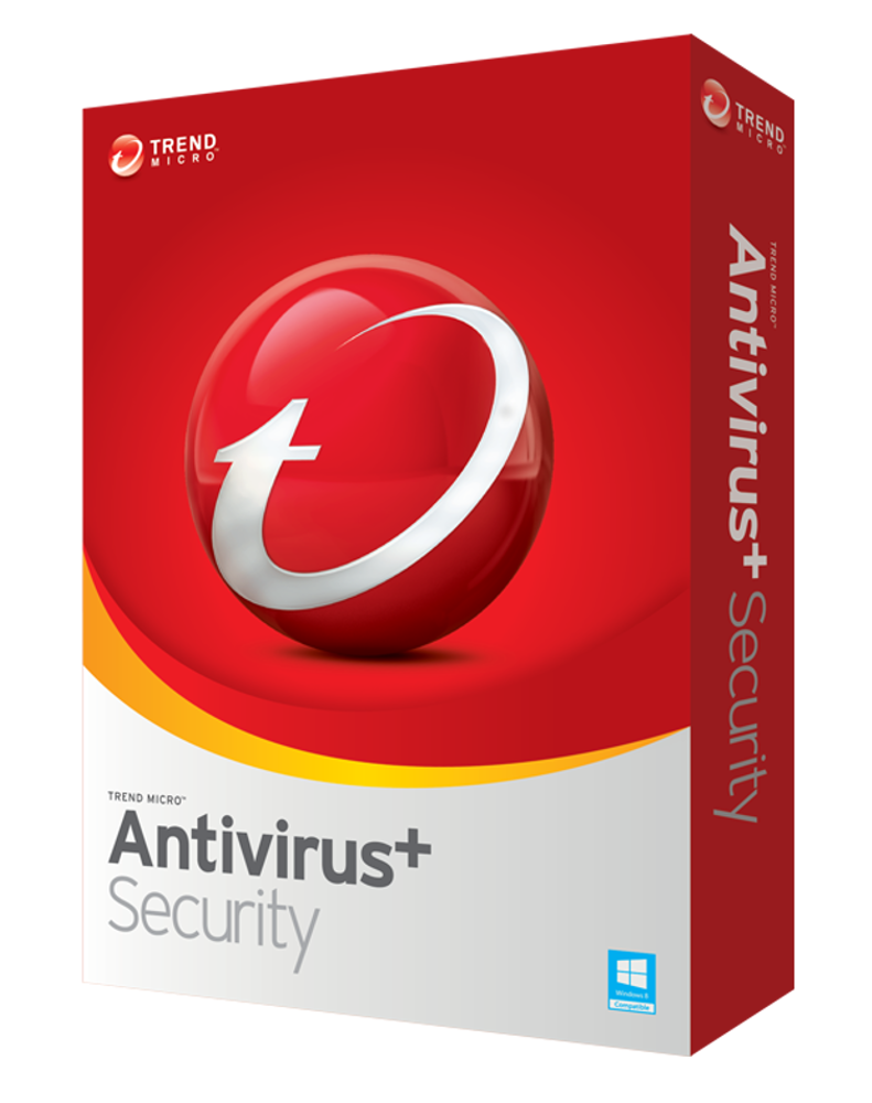 Trend Micro Antivirus Plus (3-PC 1 year)