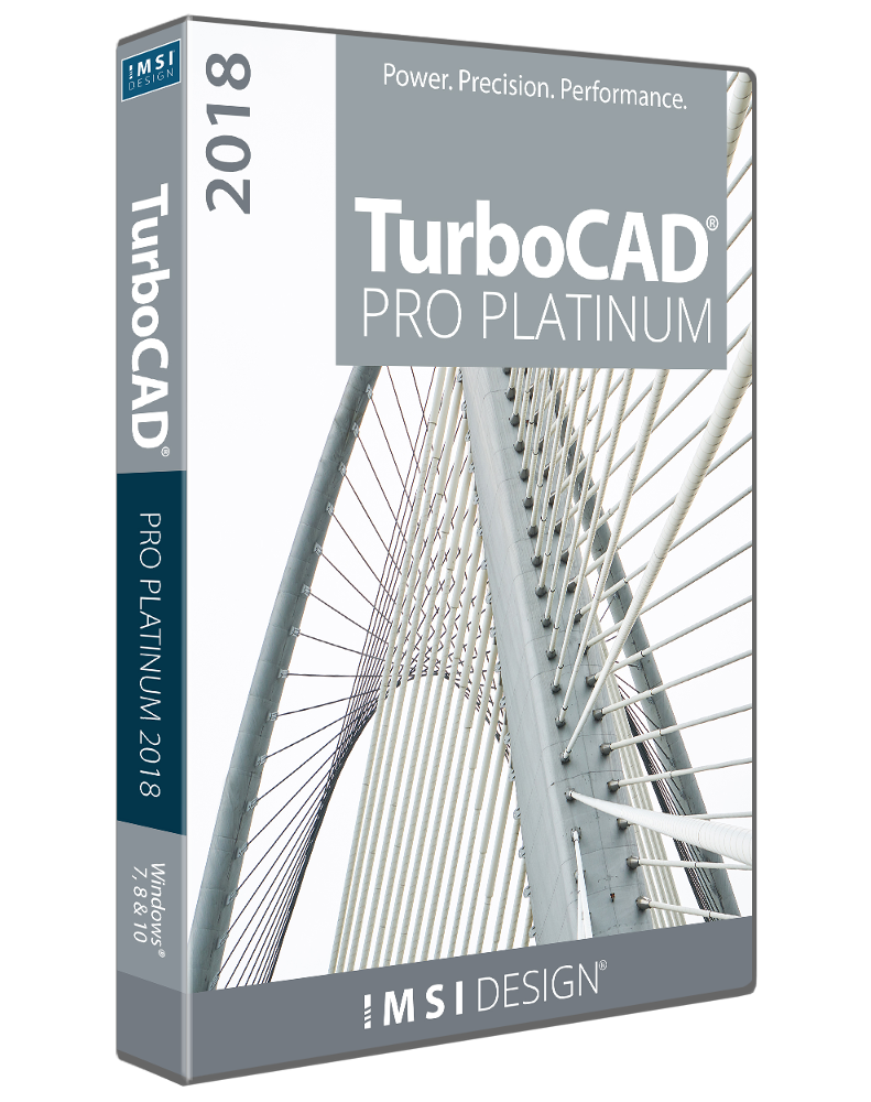 TurboCAD Pro Platinum 2018